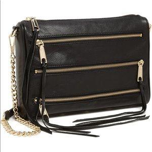 Rebecca Minkoff '5-Zip' Crossbody Bag